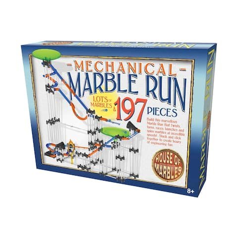 Mechanical Marble Run: 197 Pcs