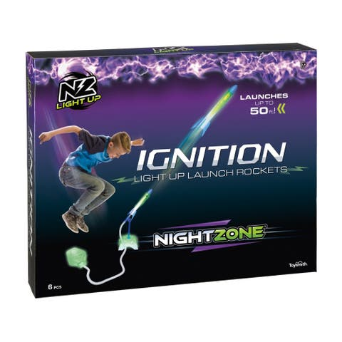 NightZone Ignition Light Up Launch Rockets