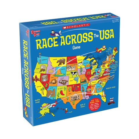 Scholastic - Race Across the USA Game