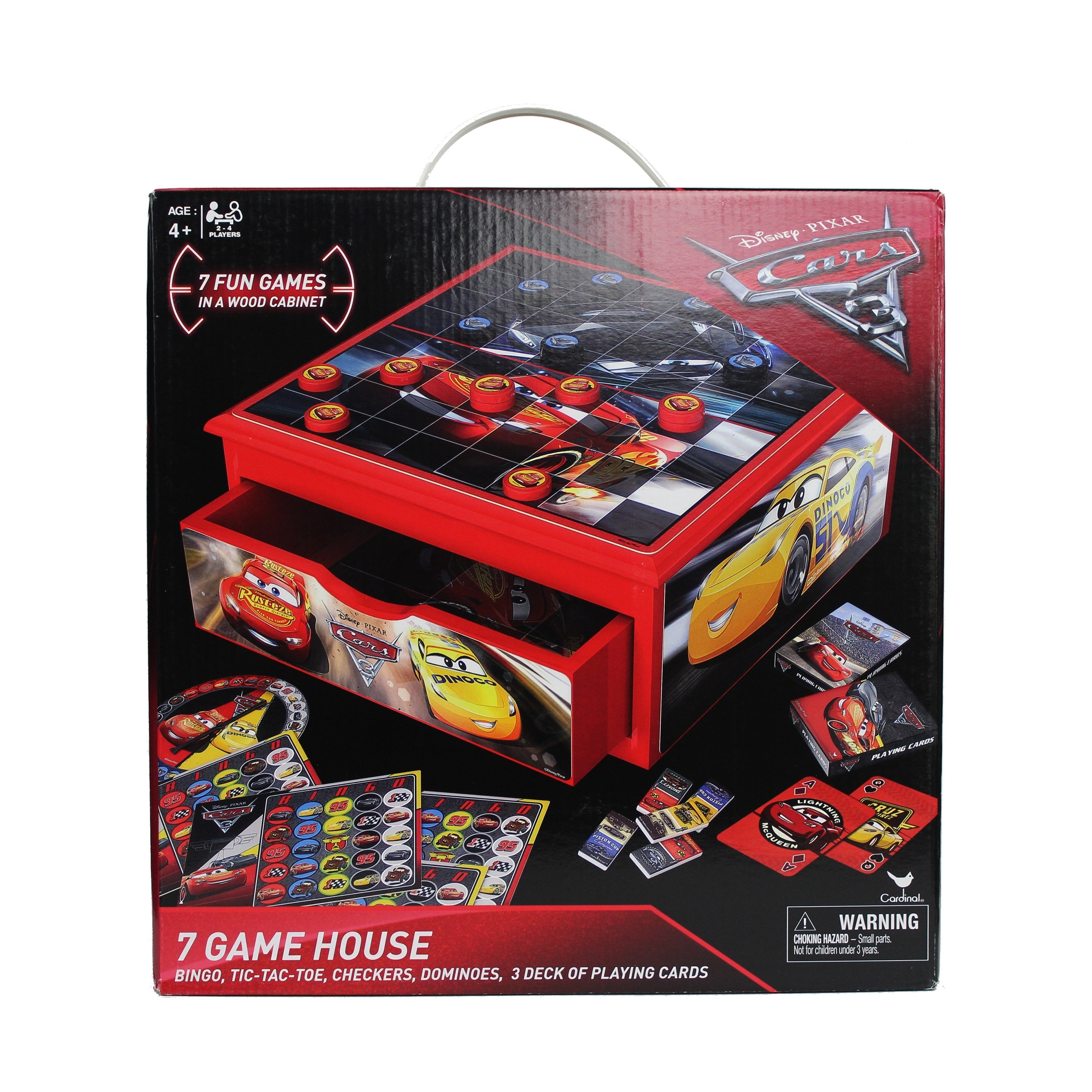 Cars 3 Tabletop Pinball