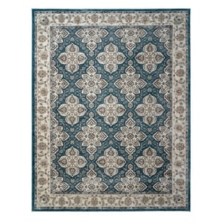 "Avenue 33 Beryl Blair Blue Area Rug (6'6"" x 9'6"") by Gertmenian - 6'6"" x 9'6"""