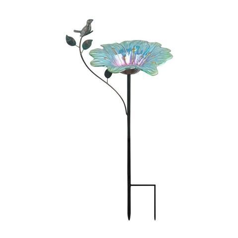 Peaktop - Outdoor 12-inch Bird feeder - Blue