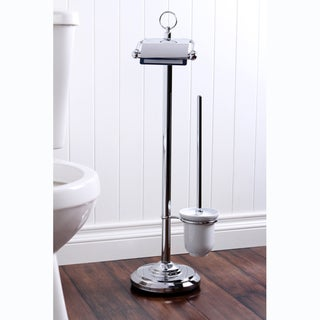Pedestal Chrome Paper Holder