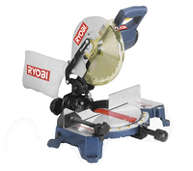 Ryobi 10 Inch Compound Miter Saw Refurbished Overstock 2653974