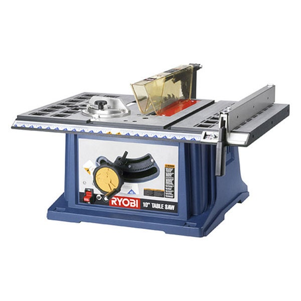 Elegant Factory Reconditioned Ryobi ZRRTS10 10 Inch Table Saw With Steel Stand