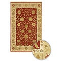 Artist's Loom Hand-knotted Traditional Oriental Wool Rug (7'9 Round)