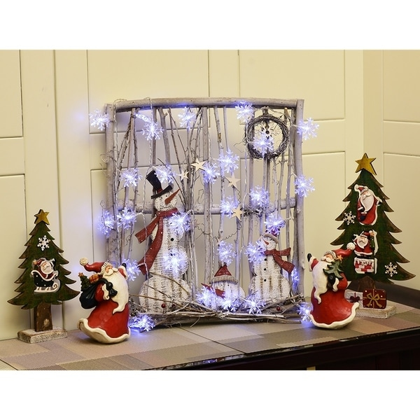 20LED USB Candle Fairy String Lights with Clip For Christmas Tree Party Decor UK