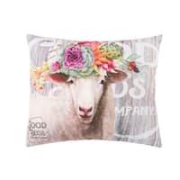 Garden Story Farm Animal Indoor / Outdoor Pillow