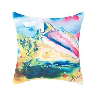 Sea Life Coastal Indoor/Outdoor Pillow