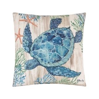Clearwater Sealife Coastal Indoor/Outdoor Pillow
