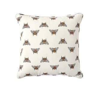 Bumble Bee Woven Pillow