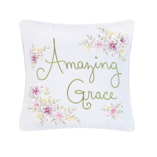 Amazing Grace Pillow