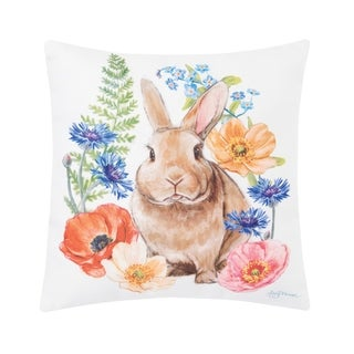 Sunny Bunny Indoor / Outdoor Pillow