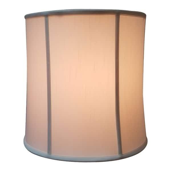 Royal Designs White Drum Basic Lamp Shade 13 X 14