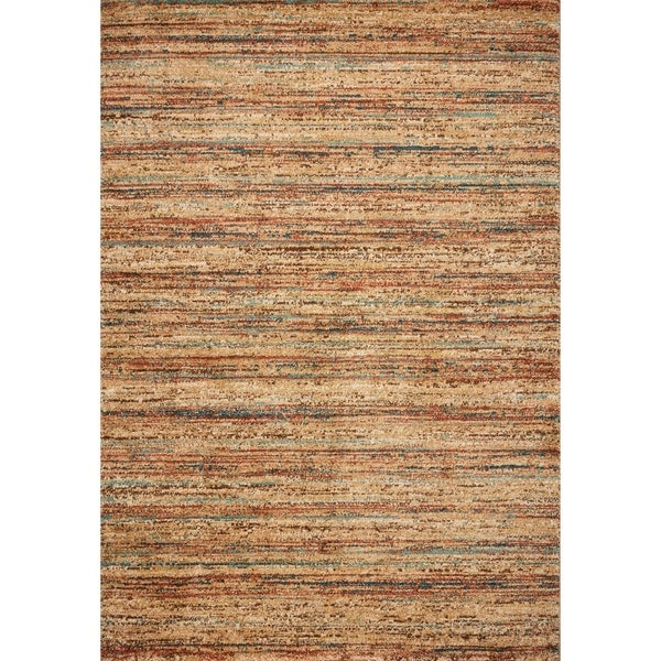 Domani Catalonia Sand Stripes Area Rug