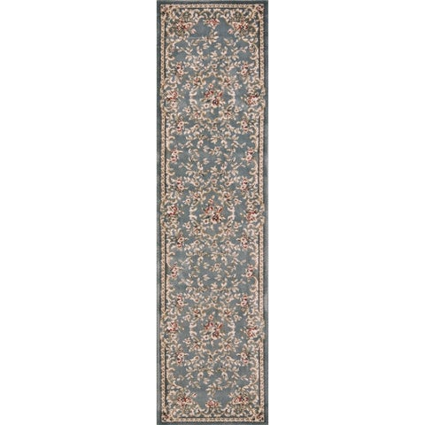 Copper Grove Gmunden Slate Blue Classic Area Rug