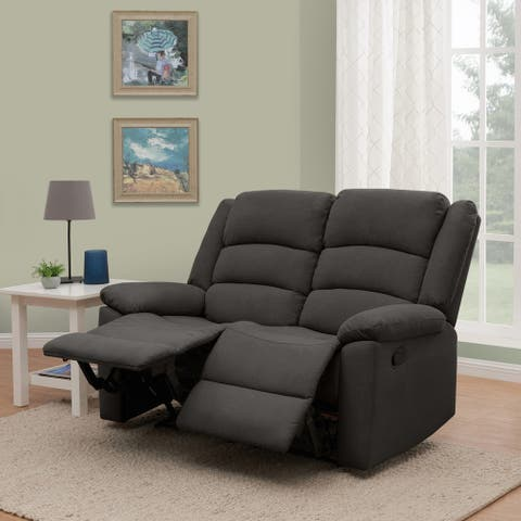 Copper Grove Geel 2-seat Low-pile Velvet Recliner Loveseat