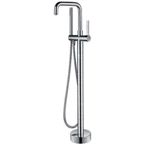 ANZZI Moray Series 2-Handle Freestanding Tub Faucet in Polished Chrome