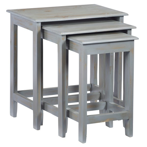 Progressive Logan Nesting Tables - 3 Pieces