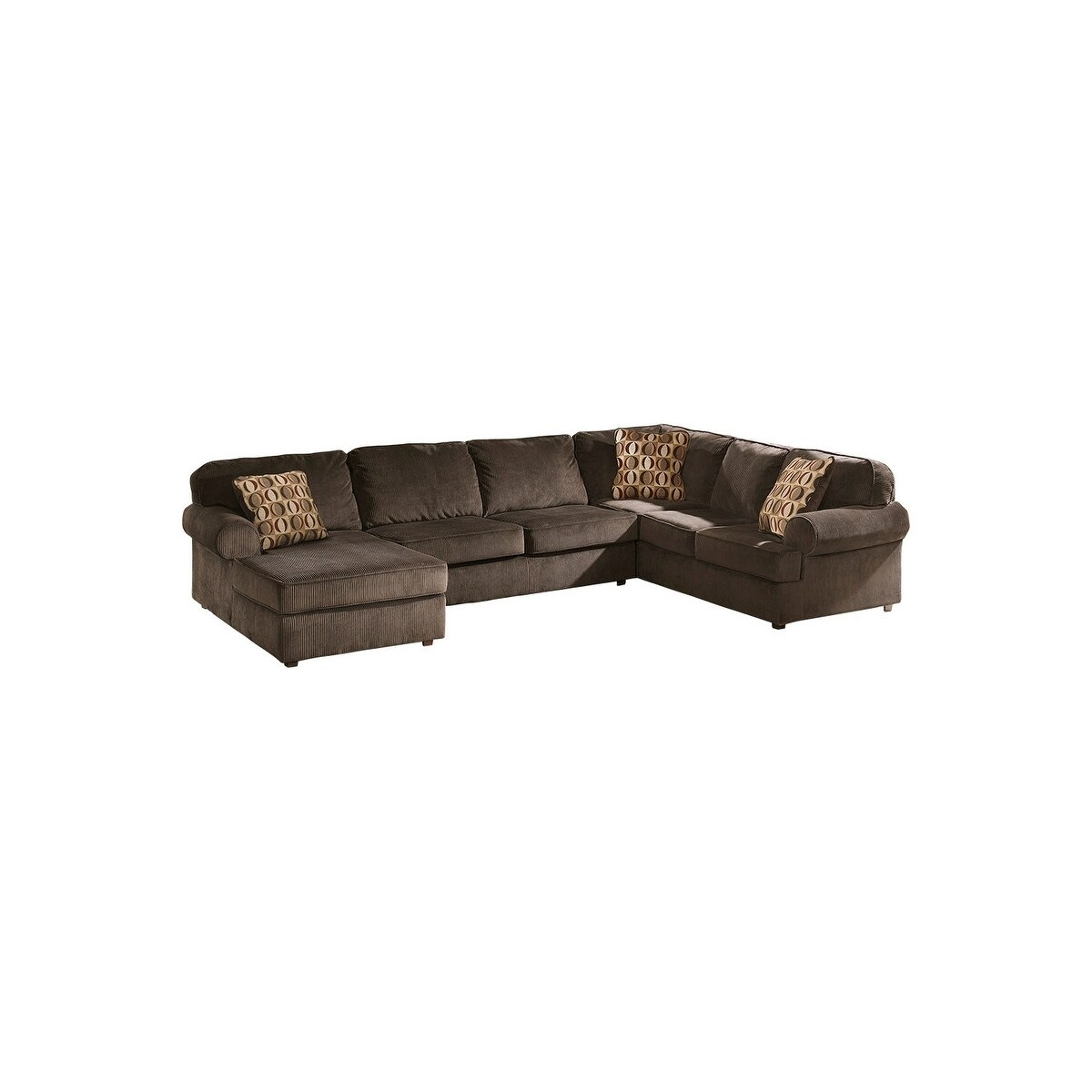 Vista Armless Loveseat Left-arm Corner Chaise Right-arm Sofa 3-piece  Sectional