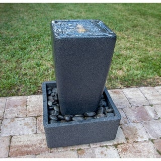 Jedda Black 27 Inch Height Floor Fountain