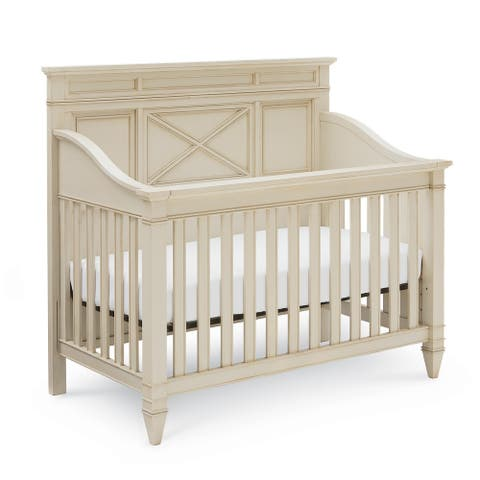 Valley Springs Crib in Sandstone Finish