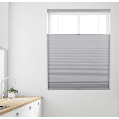 Arlo Blinds Grey Light Filtering 9/16 Top Down Bottom Up Cellular Shade