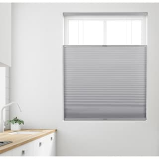 Link to Arlo Blinds Grey Light Filtering 9/16 Top Down Bottom Up Cellular Shade Similar Items in Blinds & Shades