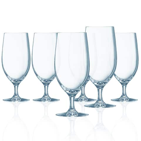 Chef & Sommelier Grand Vin Stemmed All Purpose Beverage Glass, 16.5 ounce, Set of 6 - 16.5 oz