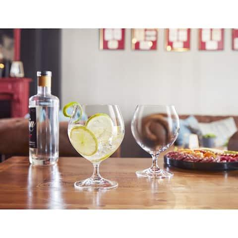Chef & Sommelier Grand Vin Stemmed Beer Malea Glass, 19.5 ounce, Set of 6 - 19.5 oz