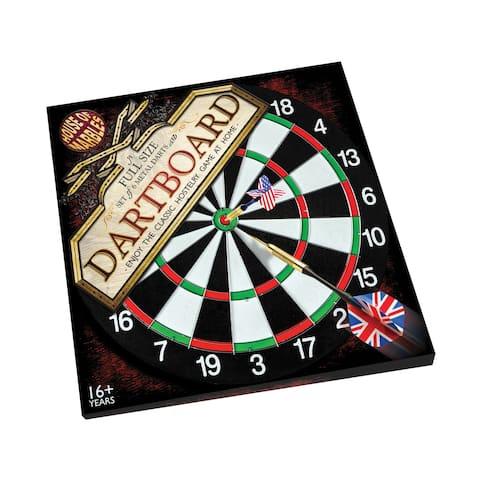 Full Size Dartboard and Darts Set - Full Size Dartboard and Darts Set