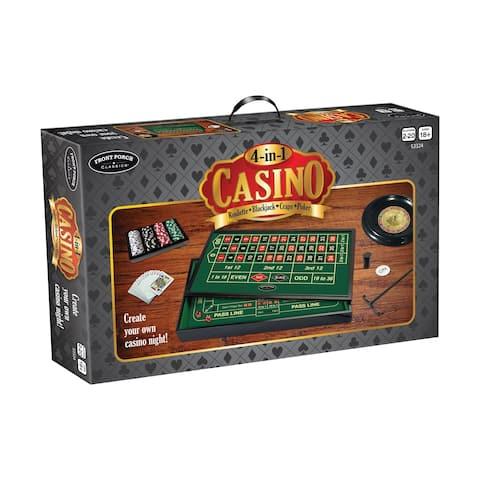4-in-1 Casino: Roulette, Blackjack, Craps, Poker - 4-in-1 Casino: Roulette, Blackjack, Craps, Poker