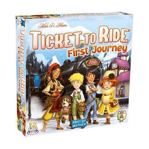 Ticket to Ride: First Journey - Europe Map - Ticket to Ride: First Journey - Europe Map