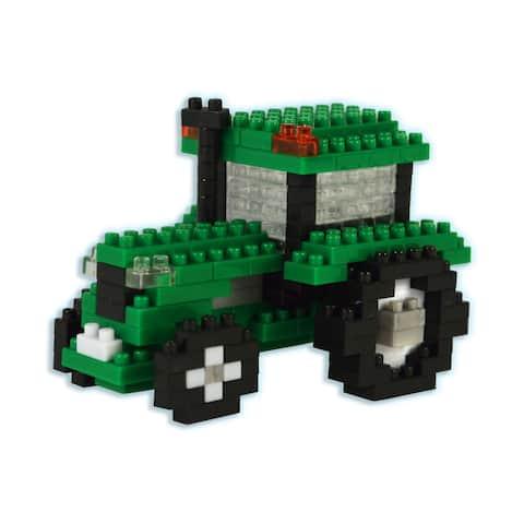 3D Pixel Puzzle - Tractor: 192 Pcs