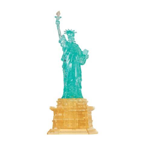 3D Crystal Puzzle - Statue of Liberty: 69 Pcs