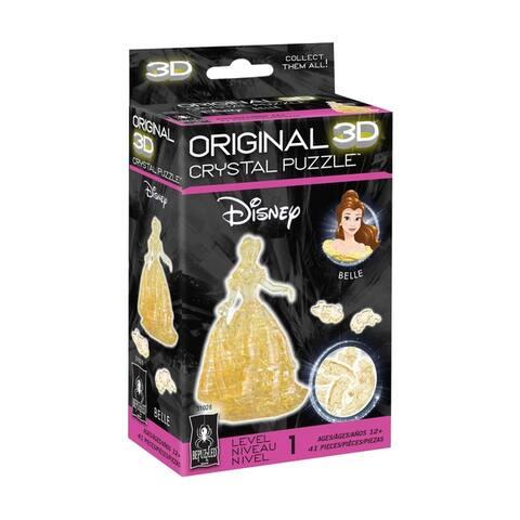 3D Crystal Puzzle - Disney Belle: 41 Pcs