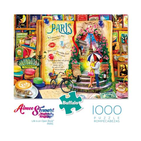 Aimee Stewart Collection - Life is an Open Book - Paris: 1000 Pcs