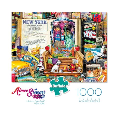Aimee Stewart Collection - Life is an Open Book - New York: 1000 Pcs