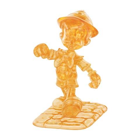 3D Crystal Puzzle - Disney Pinocchio: 38 Pcs