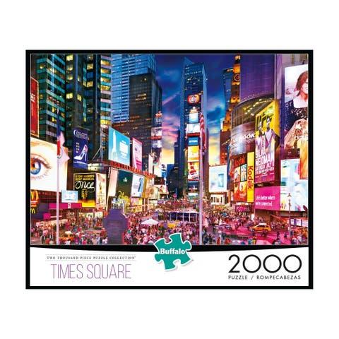 Times Square Jigsaw Puzzle: 2000 Pcs