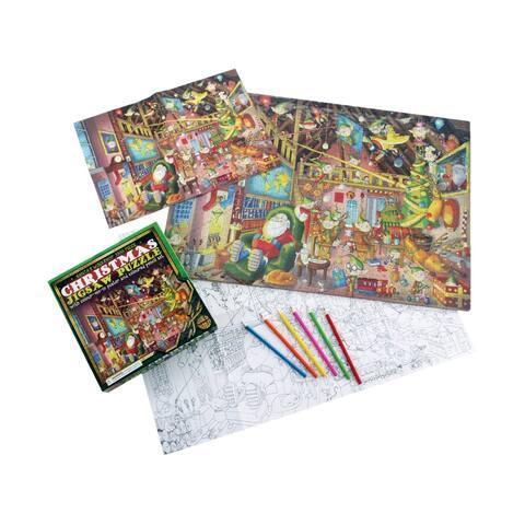 Christmas Jigsaw Puzzle - Santa's Workshop: 1000 Pcs