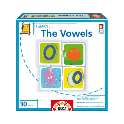 I Learn... The Vowels: 30 Pcs