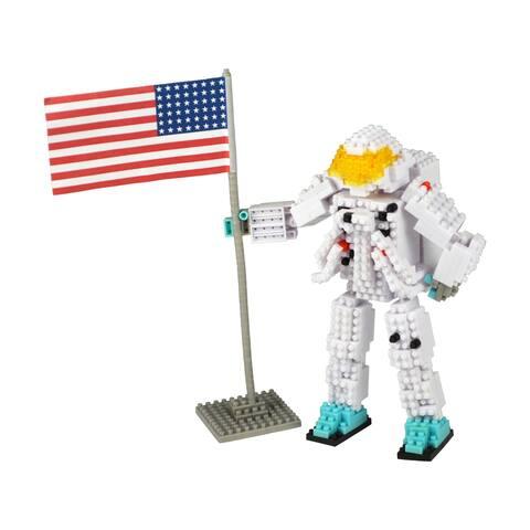 3D Pixel Puzzle Deluxe - Astronaut: 517 Pcs