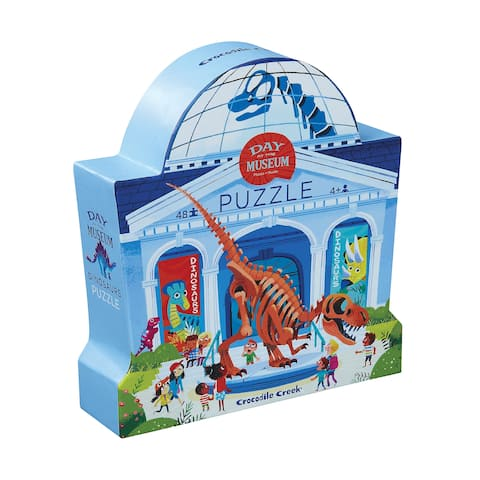 Day at the Museum - Dinosaurs Puzzle: 48 Pcs