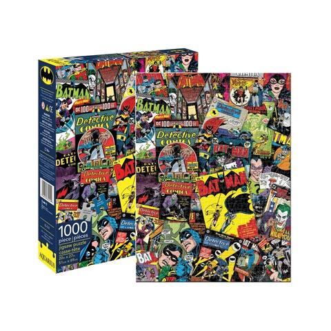 DC Comics - Batman Collage Jigsaw Puzzle: 1000 Pcs