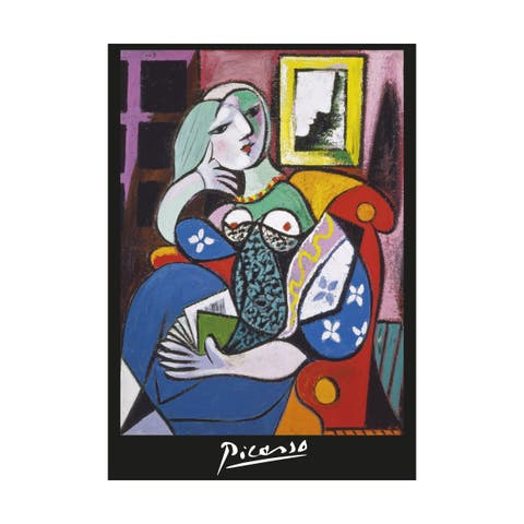 Pablo Picasso - Woman with a Book: 1000 Pcs