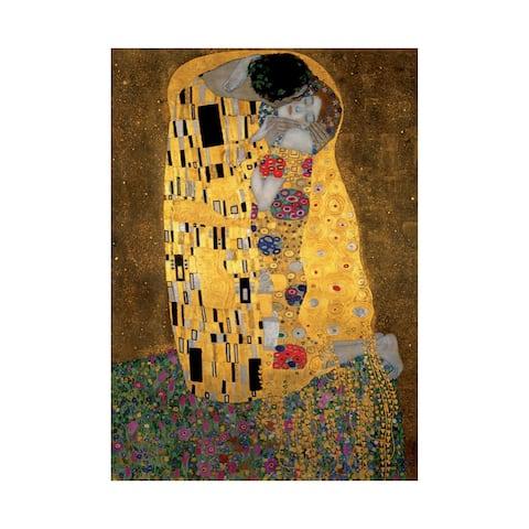 Gustav Klimt -The Kiss Jigsaw Puzzle: 1000 Pcs