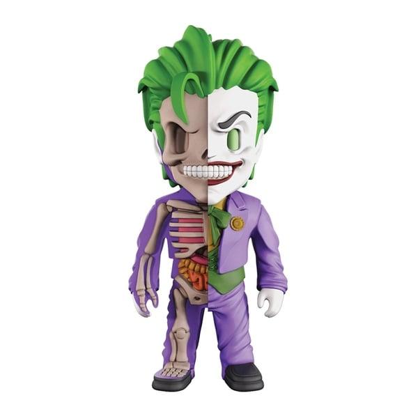 4D XXRAY Dissected Vinyl Art Figure - DC Justice League Comics: The Joker