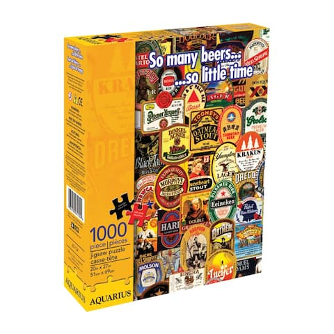 So Many Beers Jigsaw Puzzle: 1000 Pcs