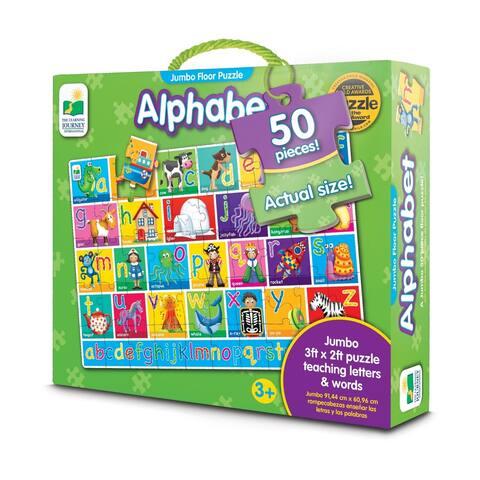 Alphabet Jumbo Floor Puzzle: 50 Pcs